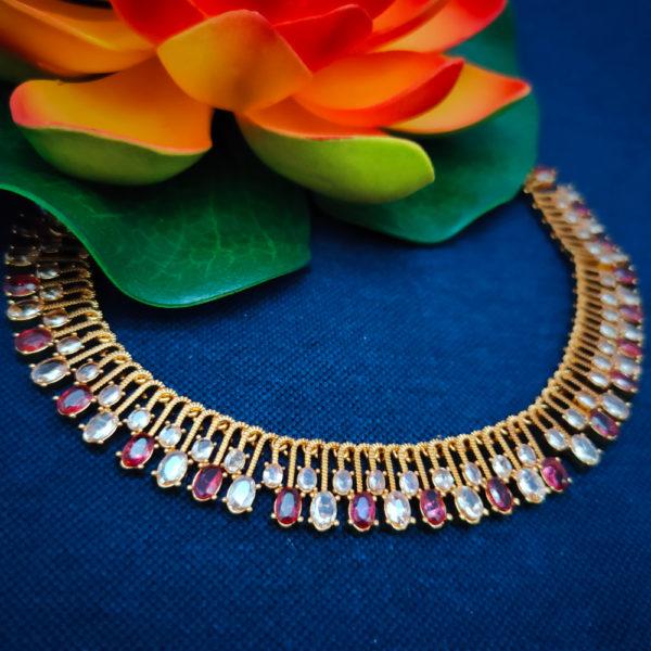 AD Antique Gold Necklace