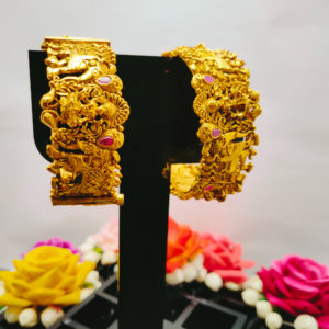 Antique Gold Bangles - AGB101