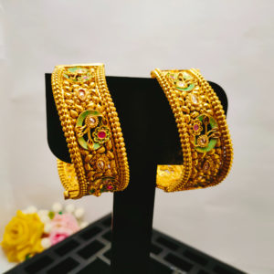 Antique Gold Bangles - AGB102