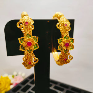 Antique Gold Bangles - AGB103