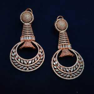 AD Rose Gold Earrings - ADRGE103
