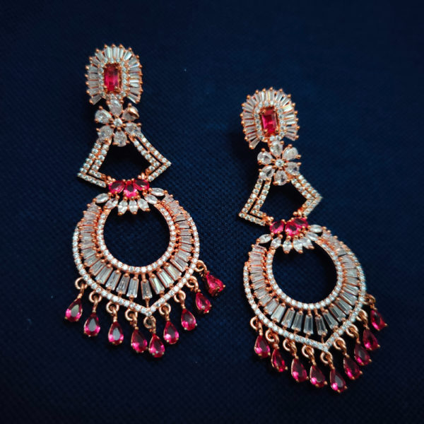 AD Rose Gold Earrings - ADRGE105