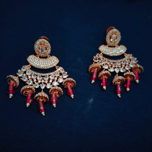 AD Rose Gold Earrings - ADRGE107