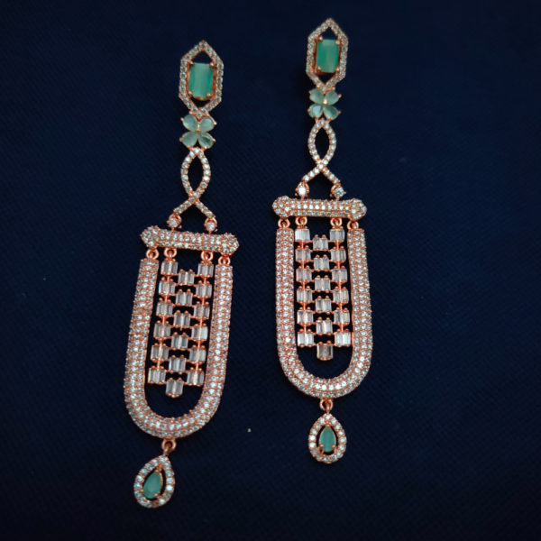 AD Rose Gold Earrings - ADRGE102