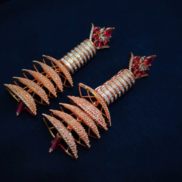 AD Rose Gold Earrings - ADRGE106