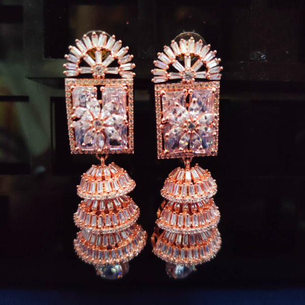 AD Rose Gold Earrings - ADRGE104