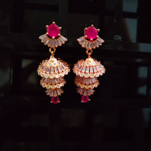 AD Rose Gold Earrings - ADRGE109