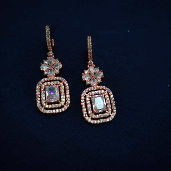 AD Rose Gold Earrings - ADRGE108