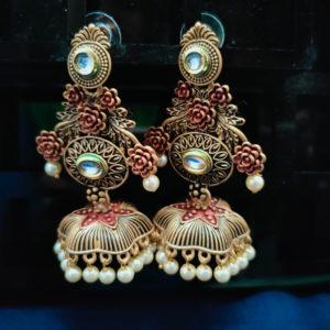 Jhumka Pattern Earrings – JMKE1007
