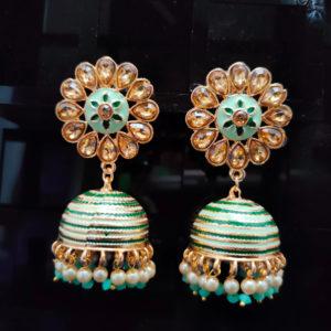 Jhumka Pattern Earrings – JMKE1013