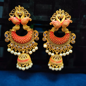 Jhumka Pattern Earrings - JMKE1003