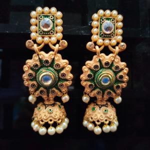 Jhumka Pattern Earrings – JMKE1012