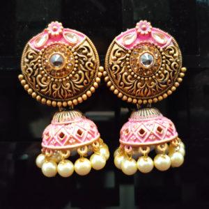 Jhumka Pattern Earrings – JMKE1022