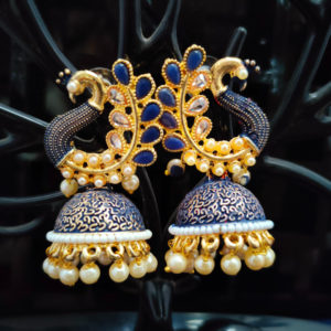 Jhumka Pattern Earrings – JMKE1015