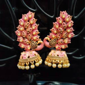 Jhumka Pattern Earrings – JMKE1011