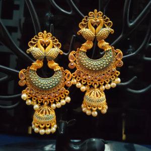 Jhumka Pattern Earrings - JMKE1004