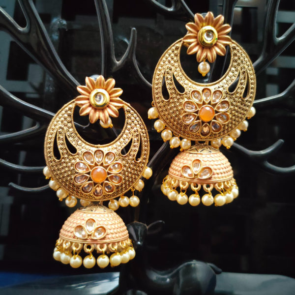 Jhumka Pattern Earrings – JMKE1010