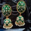 Jhumka Pattern Earrings – JMKE1008