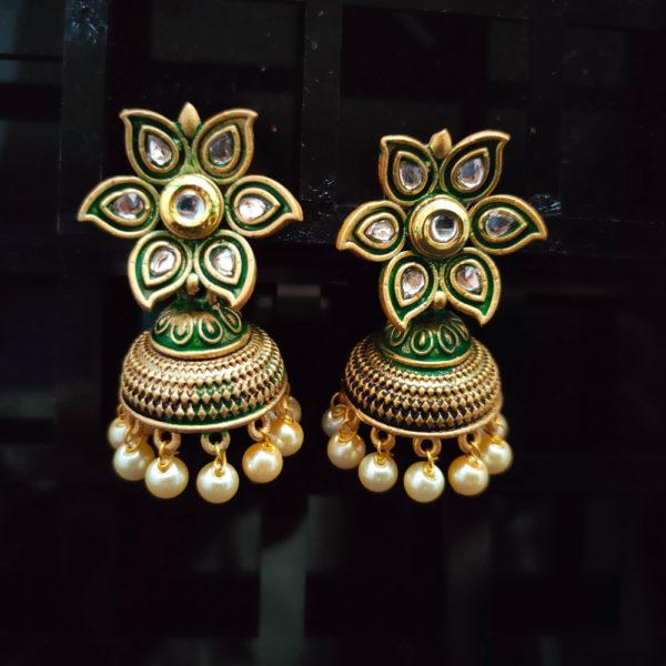 Jhumka Pattern Earrings – JMKE1019