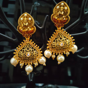 Jhumka Pattern Earrings – JMKE1031