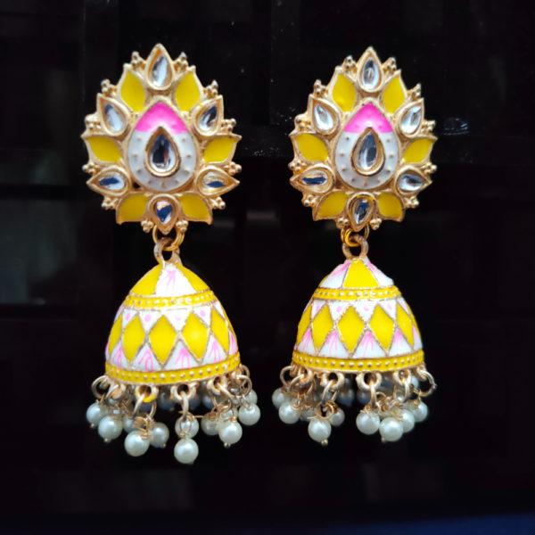 Jhumka Pattern Earrings – JMKE1030