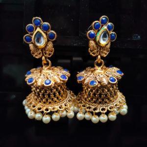 Jhumka Pattern Earrings – JMKE1016
