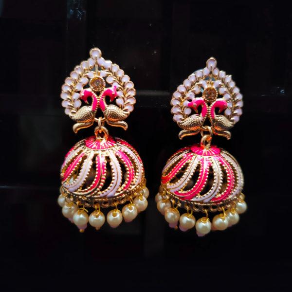 Jhumka Pattern Earrings – JMKE1027