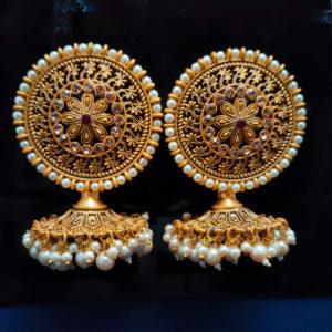 Jhumka Pattern Earrings – JMKE1035