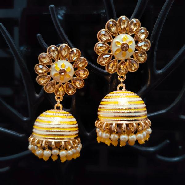 Jhumka Pattern Earrings – JMKE1032