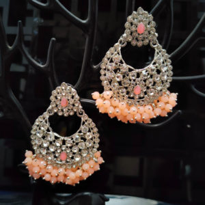ChandBali Silver Earrings – CBSLE1002
