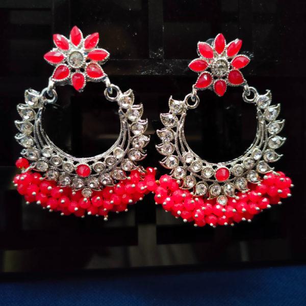 ChandBali Silver Earrings – CBSLE1004