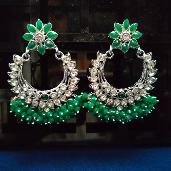 ChandBali Silver Earrings – CBSLE1006