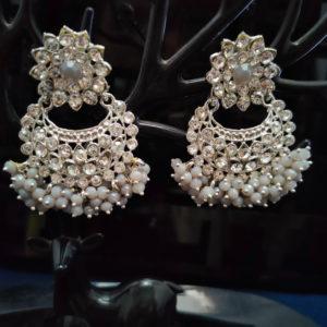 ChandBali Silver Earrings – CBSLE1005