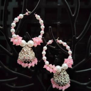 Jhumka Pattern Bali Earrings - BLJMKE102