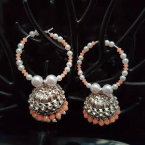 Jhumka Pattern Bali Earrings - BLJMKE101