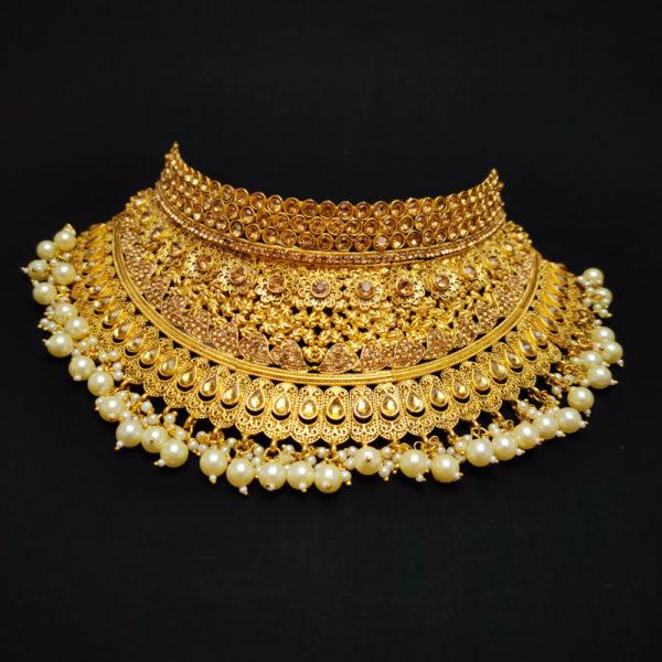 Golden Bridal Jewellery - BRIDAL102