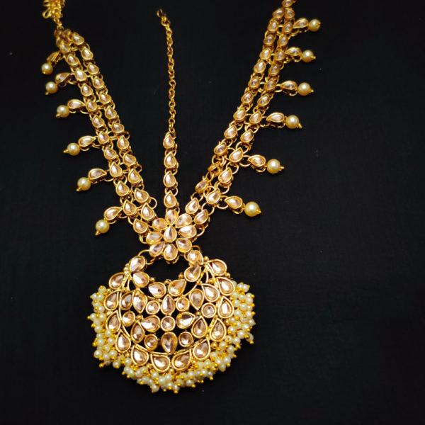 Golden Kundan Bridal Jewellery - BRIDAL103