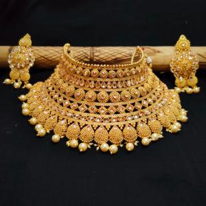 AD Golden Bridal Jewellery - BRIDAL104