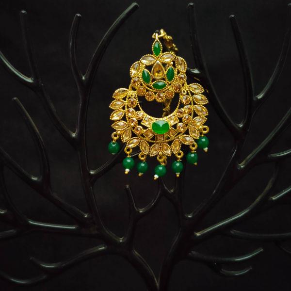 Mangtika Earring Combo ChandBali Pattern – CBMTE114