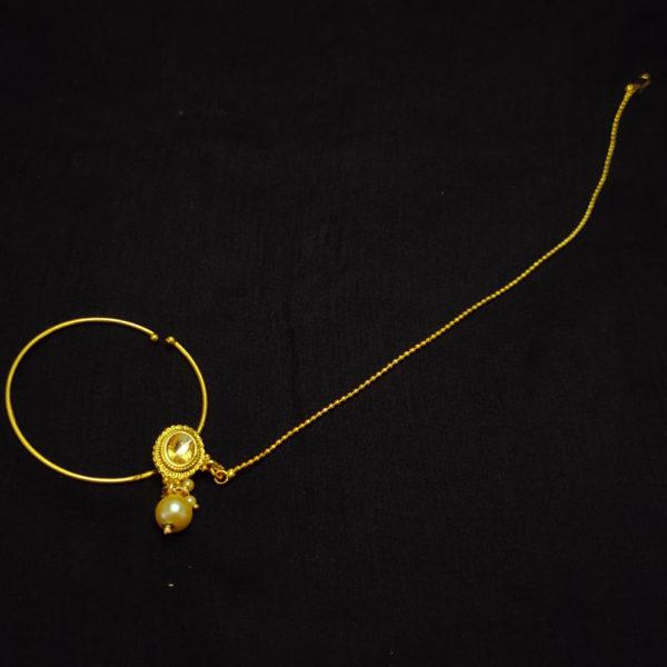 Kundan Stone Golden Bridal Jewellery – BRIDAL105