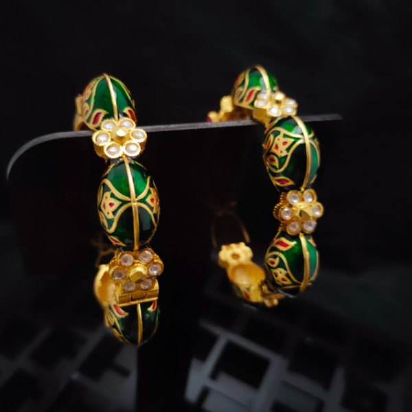 Antique Gold Bangles - AGB105