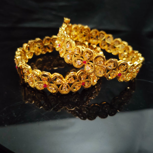 Antique Gold Bangles - AGB111