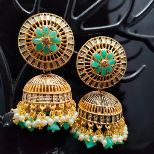 Jhumka Earrings JMKE1039