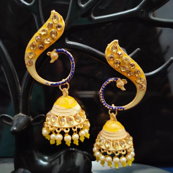 Jhumka Earrings JMKE1048