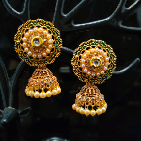 Jhumka Earrings JMKE1052