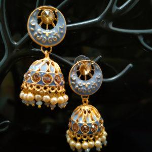 Jhumka Earrings JMKE1056