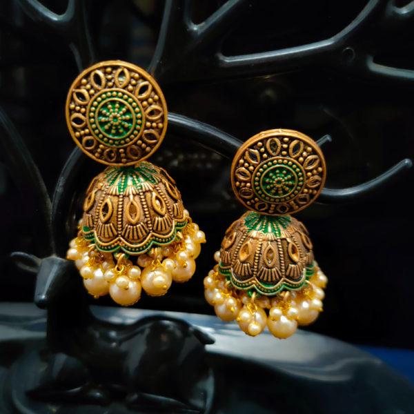 Jhumka Earrings JMKE1061