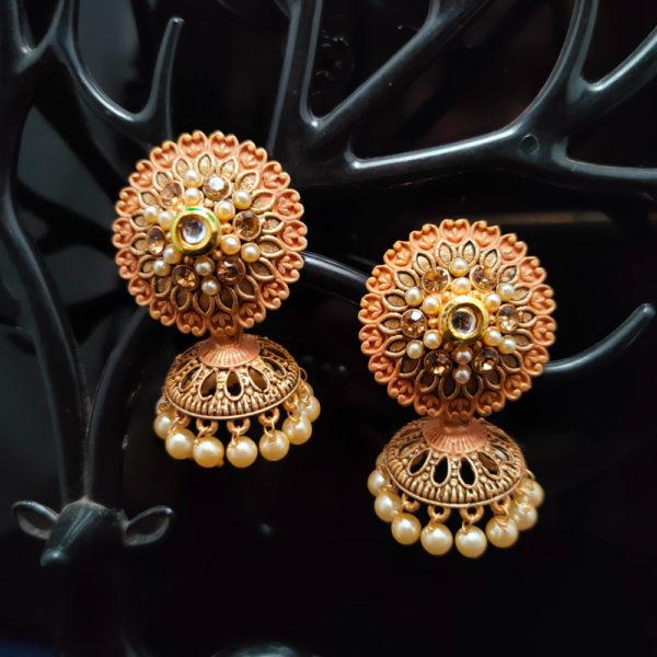 Jhumka Earrings JMKE1068