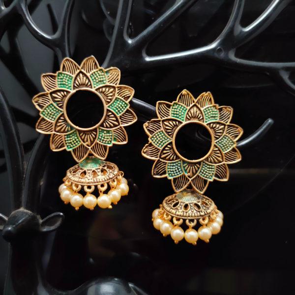 Jhumka Earrings JMKE1069